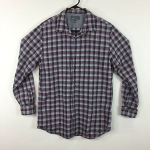 Vince Casual Long Sleeve Button-Down Shirt Size L